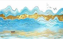 Tapete Fototapete 3D Effekt Abstrakte Linien