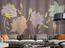 Tapete Fototapete 3D Effekt Botanische Luxuslinie