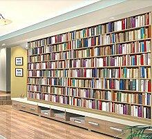 Tapete Fototapete 3D Effekt Bücherregal