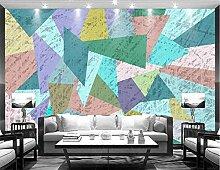 TapeteFototapete 3D Effekt Farbblöcke Für