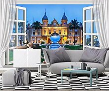 Tapete Fototapete 3D Effekt Fenster Gebäude