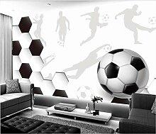 TapeteFototapete 3D Effekt Fußball Moderner