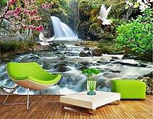 Tapete Fototapete 3D Effekt Jungle Landschaft