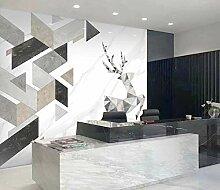 Tapete Fototapete 3D Effekt Moderne geometrische