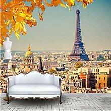 Tapete Fototapete 3D Effekt Paris Wandbild