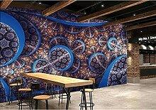 Tapete Fototapete 3D Effekt Retro-Restaurant mit