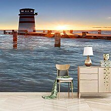 Tapete Fototapete 3D Effekt See-Leuchtturm