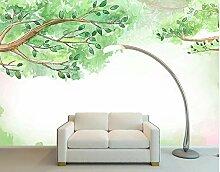 TapeteFototapete 3D Effekt Sommer Belaubten Baum