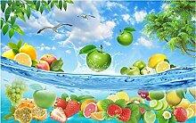 Tapete Fototapete 3D Effekt Sommerfrucht Hawaii
