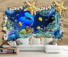 Tapete Fototapete 3D Effekt Strandschale Seestern