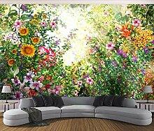 TapeteFototapete 3D Effekt Traumgarten Blüht