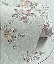 Tapete/Frische Blume romantische Tapeten/Schlafzimmer Wohnzimmer Studie Tapete/Tapeten Küche Restaurant Hochzeit/Outdoor-Tapete-E