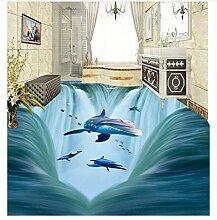 Tapete Für Badezimmer Wasserdicht 3D Wasserfälle