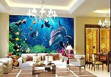 Tapete für Kinderzimmer Mode HD Underwater World