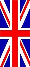 Tapete für Tür Irre L Auge Déco Flagge Englisch OEM 479, 73x204cm