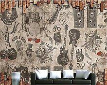 Tapete für Wände 3 d Amerikanische