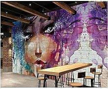 Tapete für Wände 3 d Fashion Art Bunte süße