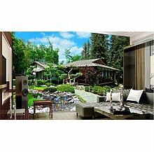 Tapete Für Wände 3 D Fototapete 3D Garten Garten