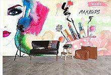 Tapete für Wände 3 d Mode gemalt Nagelgeschäft