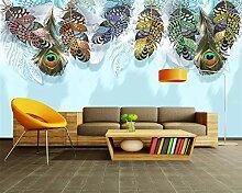 Tapete für Wände 3 d Moderne nordische
