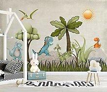 Tapete für Wände 3 D Nostalgische Karikatur