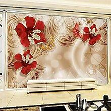 Tapete Für Wände 3 D Palace Wind Golden Jewels
