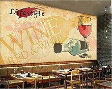Tapete für Wände 3d Mode Wein Fototapete