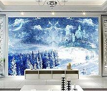 Tapete Für Wände 3D Schöne Starry Castle Home