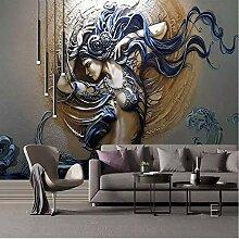 Tapete Für Wände 3D Stereoscopic Fashion Art