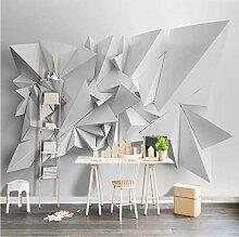 Tapete Für Wände 3D Weißes Dreieck