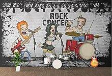Tapete für Wände in Rollen American Rock Beauty