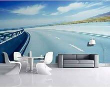 Tapete Für Wände Rollen Autobahn Landschaft Wand