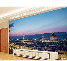 Tapete Für Wände Tapete Stadt Nachtsicht 3D