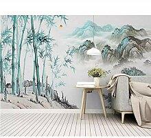 Tapete Für Wand 3D Abstrakte Tinte Landschaft