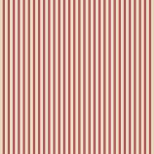 Tapete gestreift Enge Elfenbein und Rot Modern Shabby Chic Vintage und Country in Vinyl Super waschbar und langlebig ideal in alle Umgebungen besonders geeignet in Küche fk34407Fresh Kitchens 5.