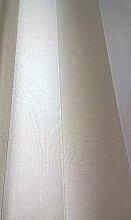 Tapete gestreift Klassische Moderne in Vinyl waschbar mit Zargen Effekt Stoff mattglänzend beige M4201Magnifica