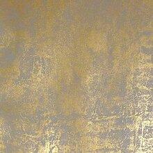 Tapete glänzend grau und Bronze der Marburg La
