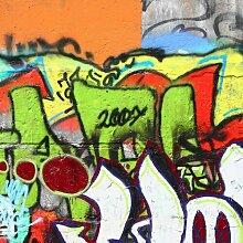 Tapete Graffiti 1.92m L x 192cm B Falkville