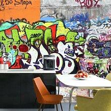Tapete Graffiti 4 m x 280 cm East Urban Home
