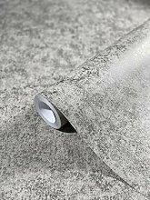 Tapete Grau Silber Betonoptik - glänzend -