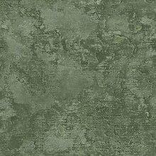 Tapete Grün sandgestrahlt leichter relief eff.