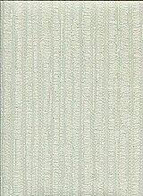 Tapete Grün Tiffany mit Boden Effekt Satin Poliert und Textur Vertikal gestreifte A Relief Wunderschöne Z4520