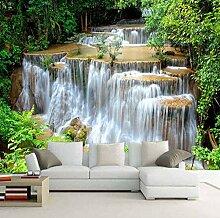 Tapete HD grüne Landschaft Wasserfall schöne TV