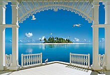 Tapete Hochwertiger Malediven Wandbild Tapete