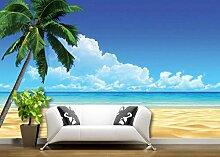 Tapete Hochwertiger Seelandschaft Mit Kokospalmen