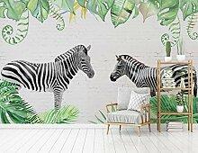 Tapete Hochwertiger Zebra Wandbild Tapete