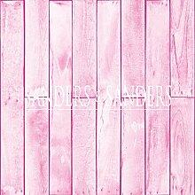 Tapete Holzoptik Hellrosa - 935243 - von Sanders &