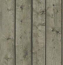 Tapete Holzoptik natur aus Vinyl Schaumstoff mit Blindprägung waschbar für Umgebungen mit Stil Modern Zeitgenössisch Shabby Country aber 7815Materials
