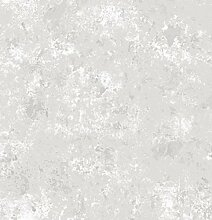 Tapete in materischer Optik Beton grau 5689