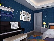 Tapete Kinderzimmer Sterne Tapete Warm Cartoon